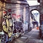 Graffiti Bridge Art Print