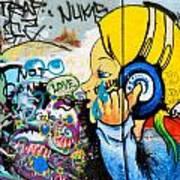 Graffiti Jammin' Art Print