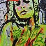 Graffiti Nude Art Print