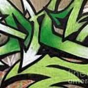 Graffiti Painting Art Print
