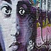 Graffiti Permission Wall Art Print