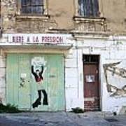 Graffitti In France Art Print