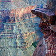 Grand Canyon A Place To Stand Art Print