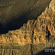 Grand Canyon Bathed In Light Art Print