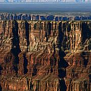 Grand Canyon Cliffs IIi Art Print