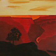 Grand Canyon Contemporary 1 Art Print