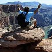 Grand Canyon Feeling All Right Art Print