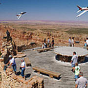 Grand Canyon Fly By-2 Art Print