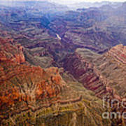 Grand Canyon Morning Scenic View Art Print