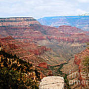 Grand Canyon With Smoke Print by The Kepharts