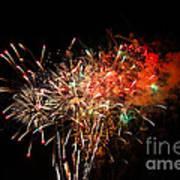 Grand Haven Mi Fireworks Art Print