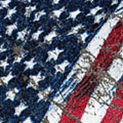 Grand Ol' Flag Art Print