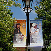 Grand Ole Opry Flags Nashville Art Print