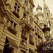 Grand Place Perspective Art Print