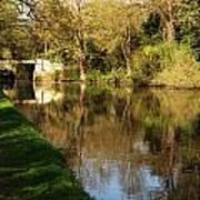 Grand Union Canal Near Denham Art Print