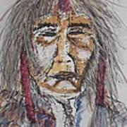 Grandfather  Spirit Art Print by Nashoba Szabol