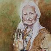 Grandmother Many Horses Print by Patsy Sharpe