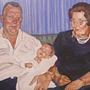 Grandpa And Grandma Art Print