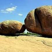 Granite Boulders 2  Art Print