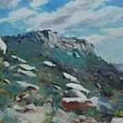Granite Mountain Art Print