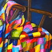 Gran's Quilt Art Print