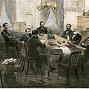 Grants Cabinet, 1869 Art Print