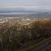 Grants Pass From The Hill Top Art Print