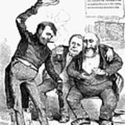 Grant/tweed Cartoon, 1872 Art Print