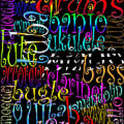 Graphic Music Art Print