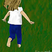 Grass Under My Feet Art Print by Melissa Stinson-Borg