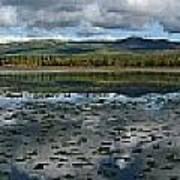 Gravel Lake, North Klondike Highway Art Print