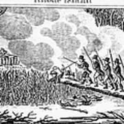 Great Swamp Fight, 1675 Art Print