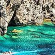 Greece Corfu Island Art Print