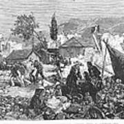 Greece: Earthquake, 1880 Print by Granger