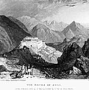 Greece: Souli, 1833 Art Print