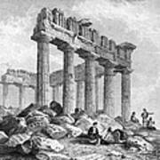 Greece: The Parthenon 1833 Art Print by Granger