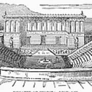 Greece: Theater Of Segesta Art Print