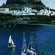 Greek Isles - Rodos Art Print