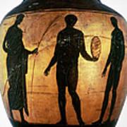 Greek Olympian Art Print
