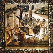 Greek Philosophers Art Print