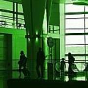 Green Airport Art Print