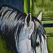 Green Barn Art Print