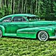 Green Classic Hdr Art Print