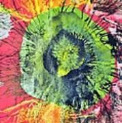 Green Dot Art Print