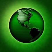 Green Earth Art Print