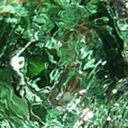 Green Eddy I Art Print