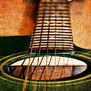 Green Gibson Art Print