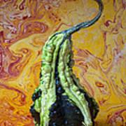 Green Gourd Art Print