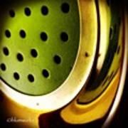 Green Rinse Art Print