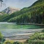 Green River Lake Art Print